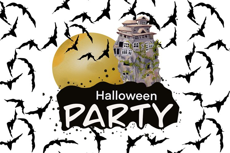 Halloween Party Collection example image 1