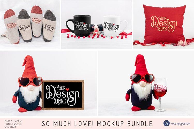 Valentine Mockup Bundle   5 styled photos example image 1