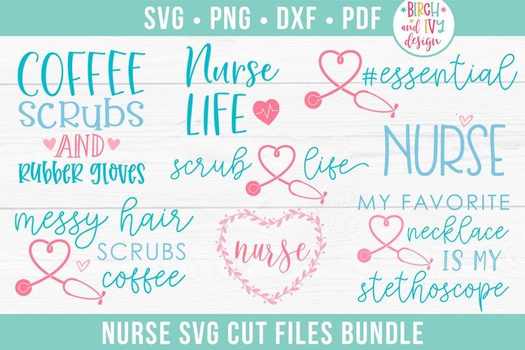 Nurse SVG Bundle, Nurse Life SVG Cut Files