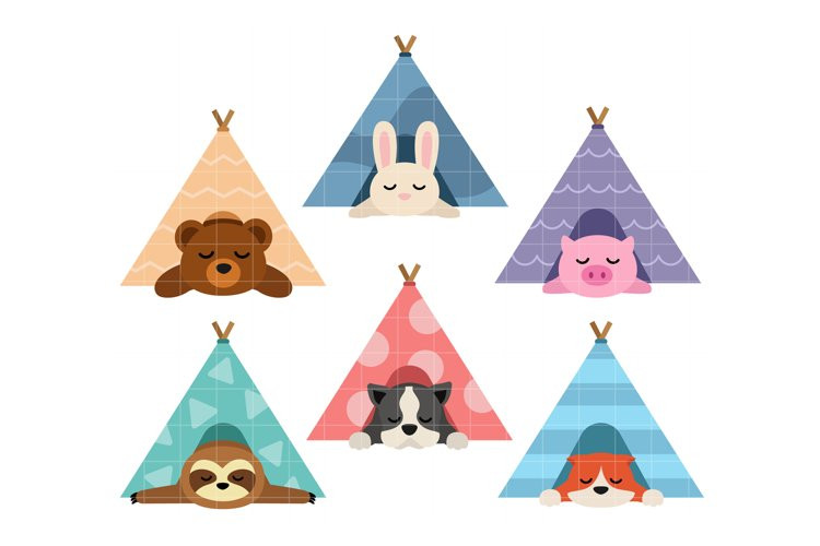 Cute Tent Sleepers example image 1