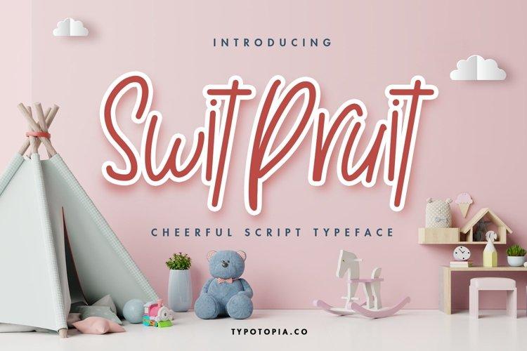 Swit Pruit example image 1