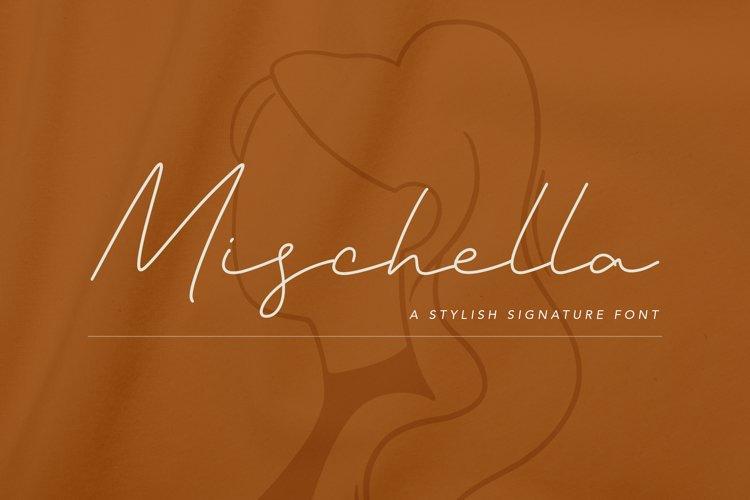 Mischella Stylish Signature Font example image 1