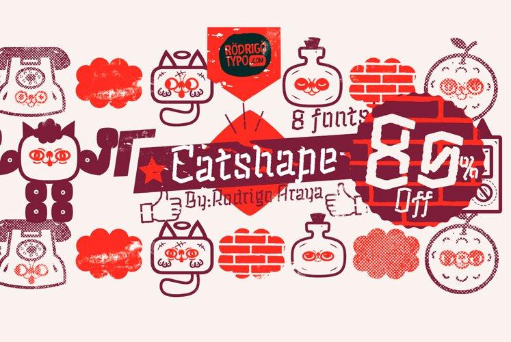 Catshape -80 Off / Fast Sale example image 1