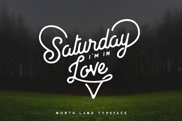 North Land Font Duo example image 1