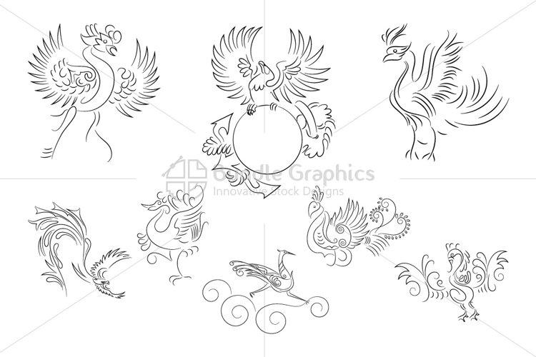 Phoenix Birds example image 1