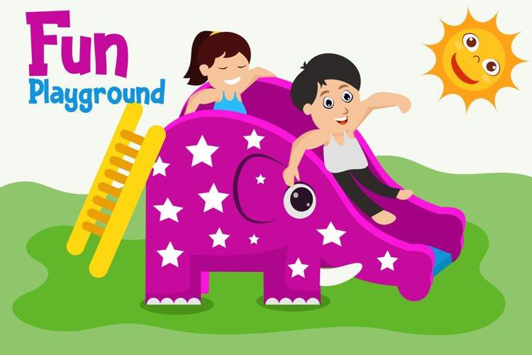 Children Fun Illuatration example image 1