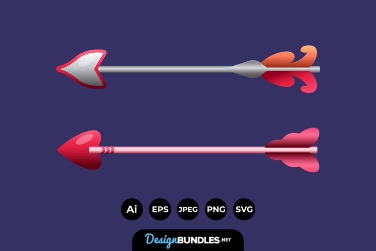 Cupid Arrow Illustrations example image 1