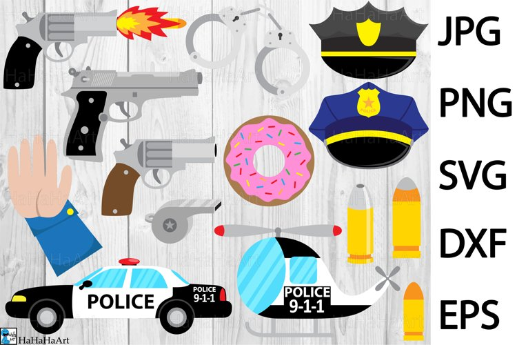 Fun Police - Clip art / Cutting Files 320c