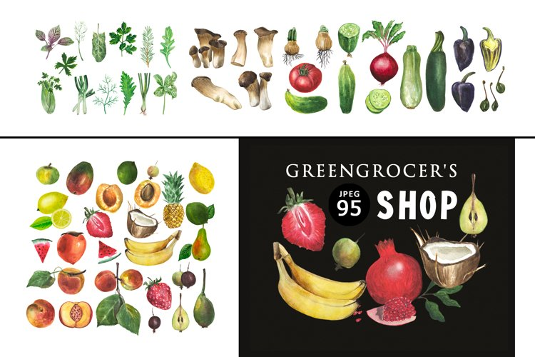 Greengrocer's shop example image 1