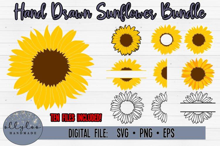 Sunflower Bundle | Sunflower SVG Bundle | Flower SVG