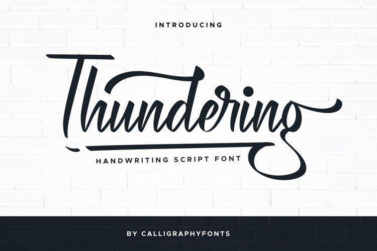 Thundering example image 1