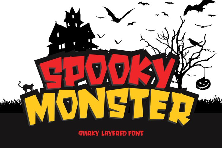 SPOOKY MONSTER example image 1