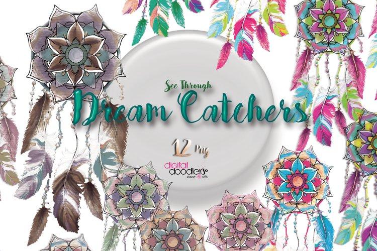 Mandala Inspired Dreamcatchers