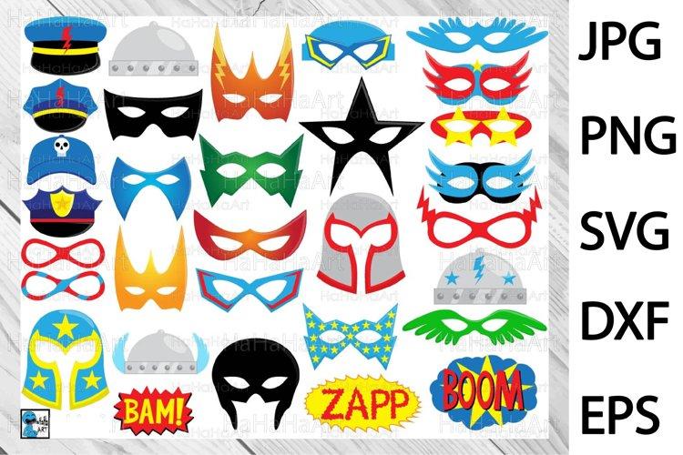 SuperHeros Masks - Print and Cut 135c