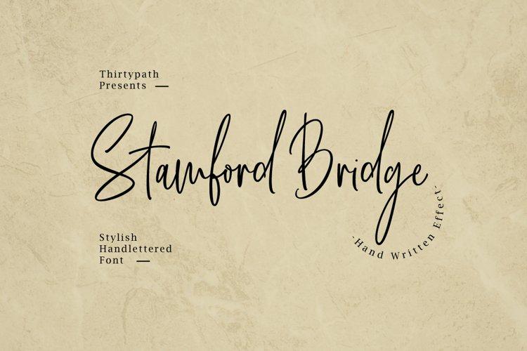 Stamford Bridge Script example image 1