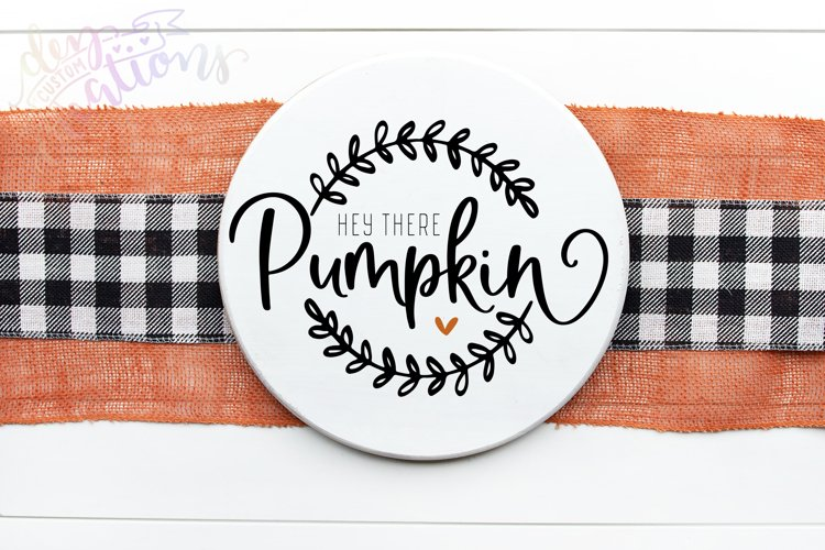 Hey There Pumpkin - SVG DXF cut files