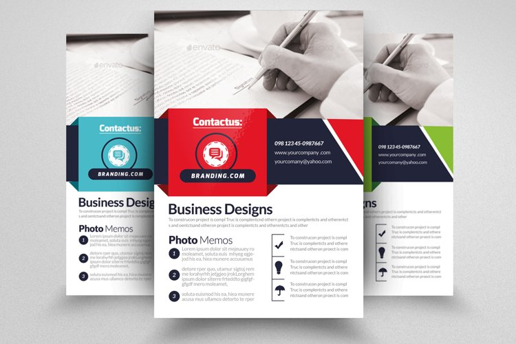 Business Accounting Firm Flyer example image 1