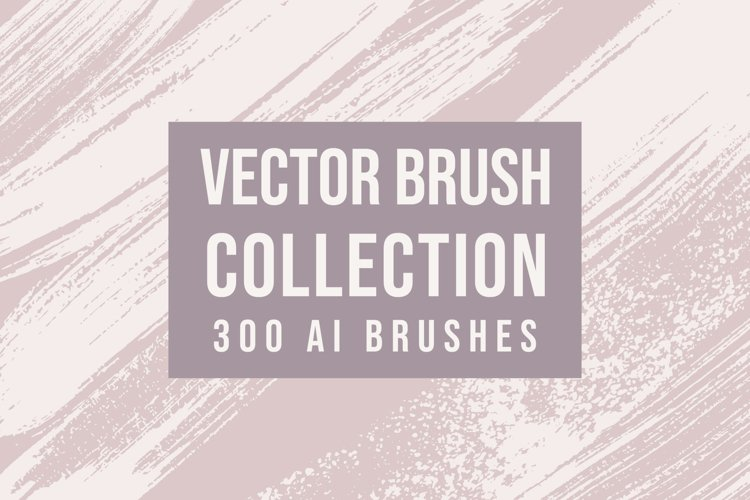 300 Vector Brushes Collection