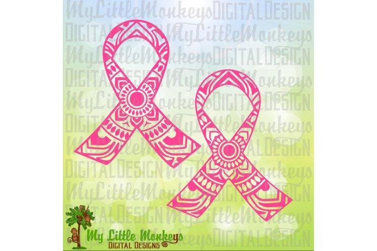 Awareness Ribbon Mandala