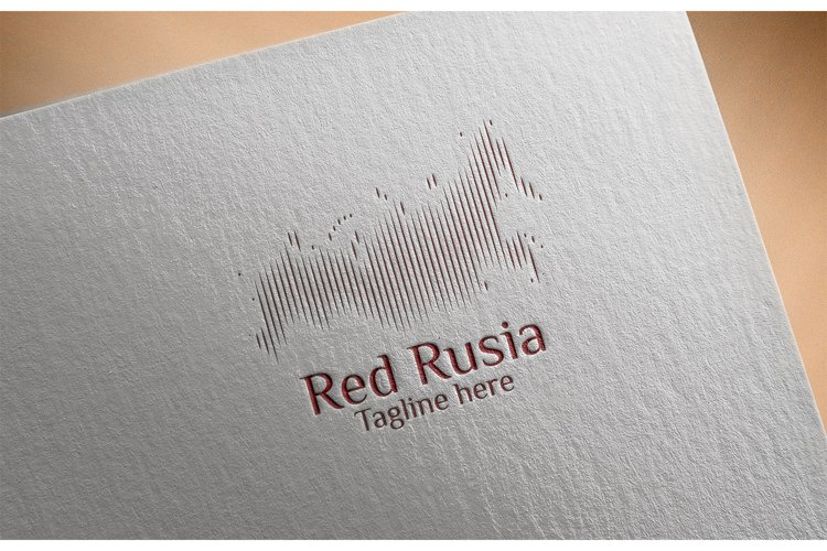 Rusia Map Logo example image 1