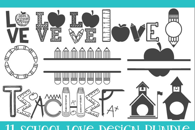 School, Teacher, SVG, PNG, DXF, EPS example 1