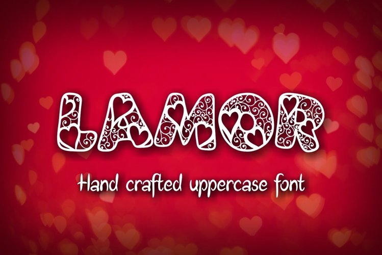 Lamor font example image 1