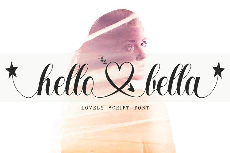 Hello Bella Script example image 1