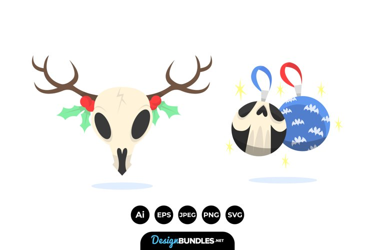 Gothic Christmas Illustrations