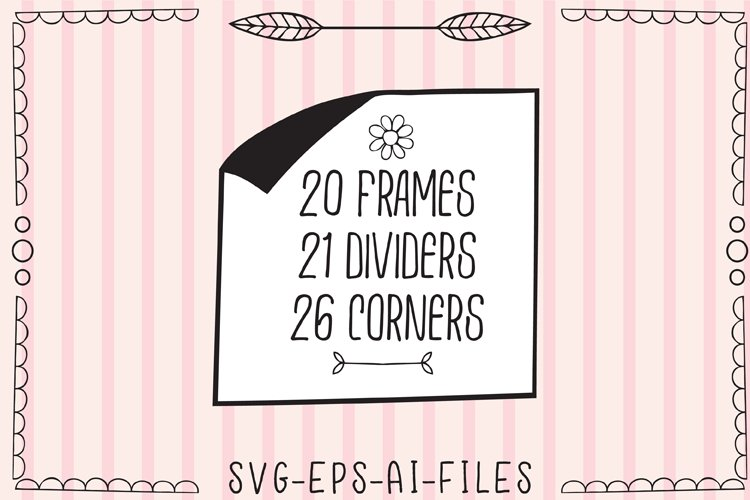 Frames Dividers & Corners