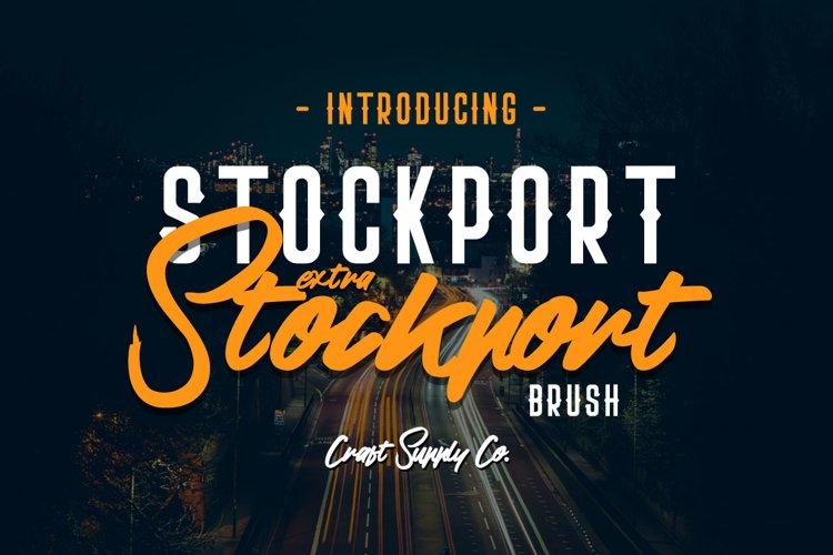 Stockport Extra & Brush example image 1