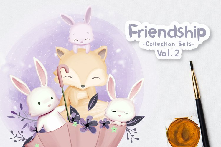 Friendship Collection Sets Vol.2 example image 1