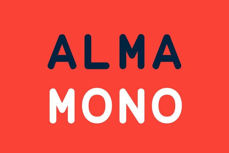 Alma Mono example image 1