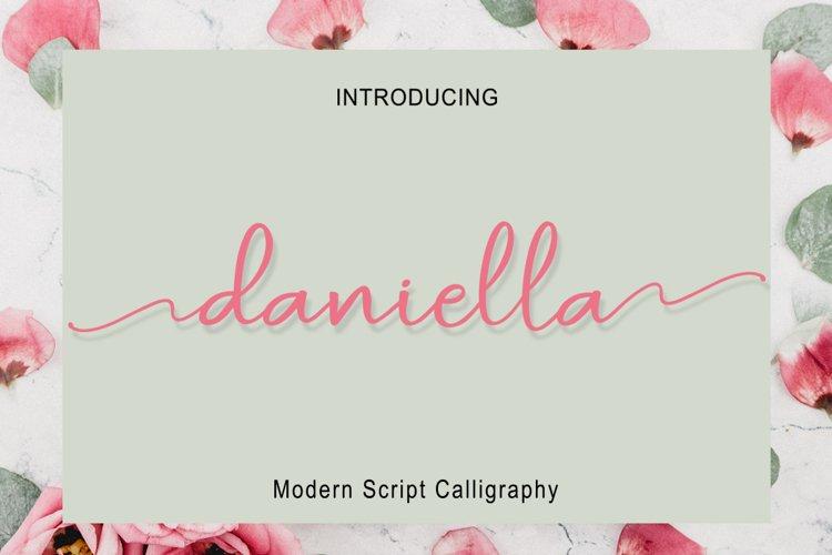 Daniella Script example image 1