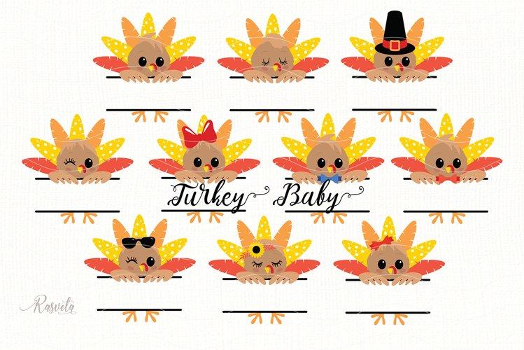 Thanksgiving Peeking Turkey/ 2