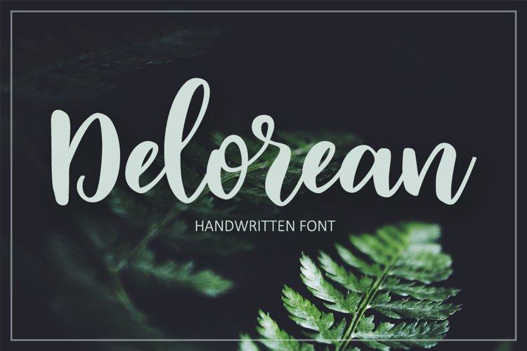 Delorean Script example image 1