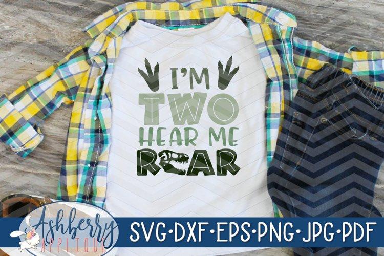 Im Two Hear Me Roar SVG/DXF Cut File