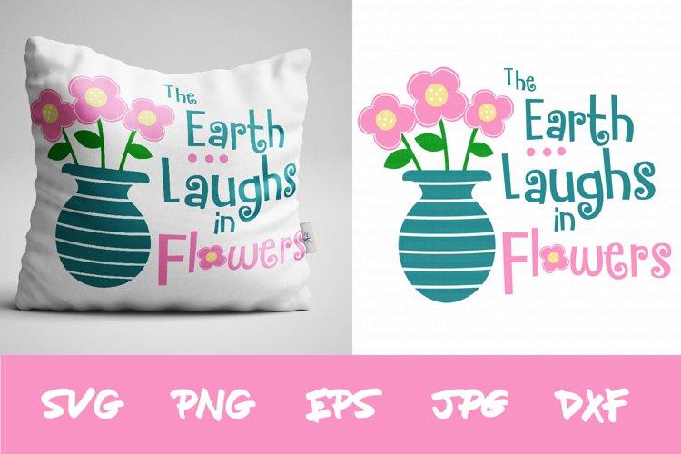 Spring SVG, Flower SVG, SIlhouette SVG, Cricut svg, clipart example image 1