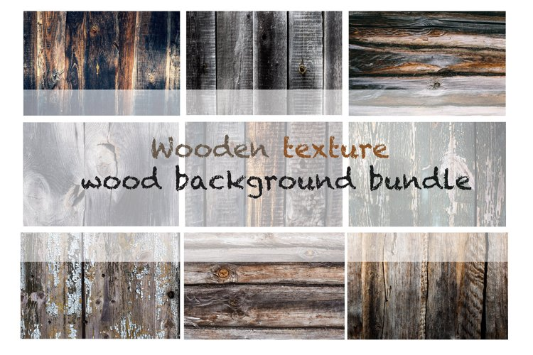 Rustic old Wooden texture. Barn Wood background bundle example image 1