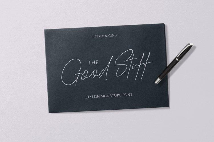 The Good Stuff Signature example image 1