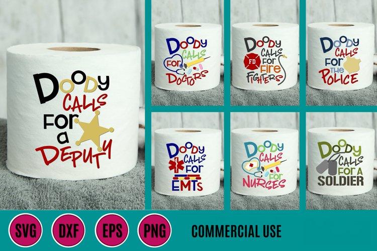 Doody Calls Toilet Paper Bundle SVG DXF PNG EPS Comm