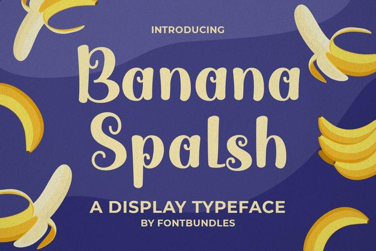Banana Splash example image 1