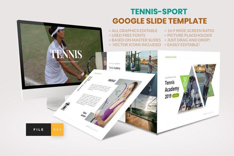 Tennis - Sport Google Slide Template