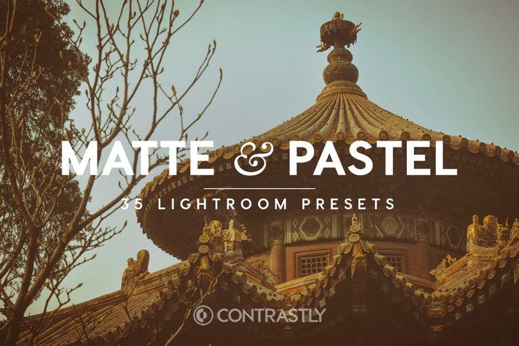 Matte & Pastel Lightroom Presets example image 1