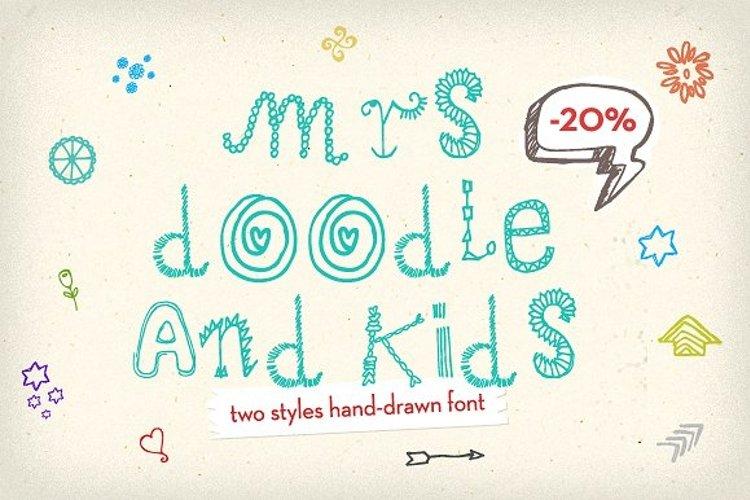 Mrs Doodle Fonts