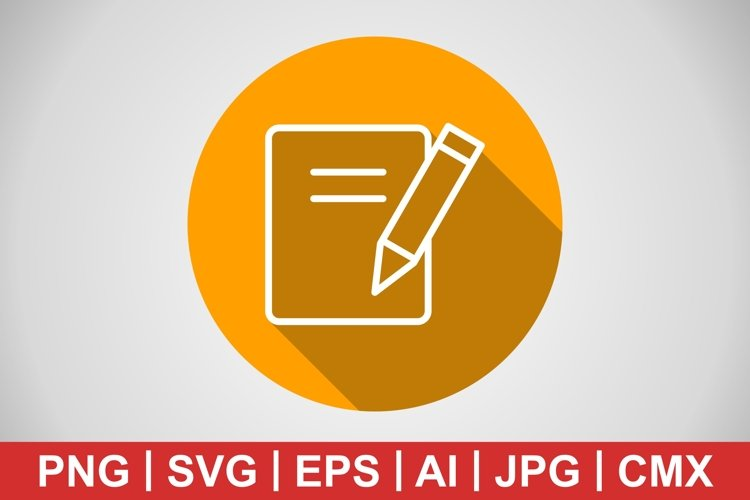 Vector Notes Icon example image 1