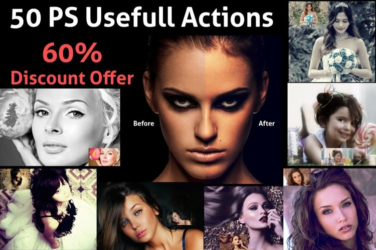 50 PS Usefull Actions example image 1