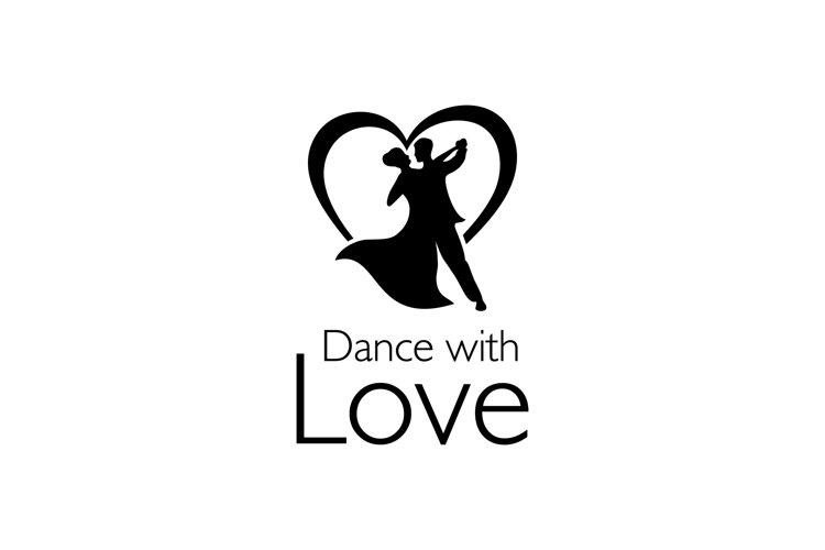 dancing wedding couple sign example image 1