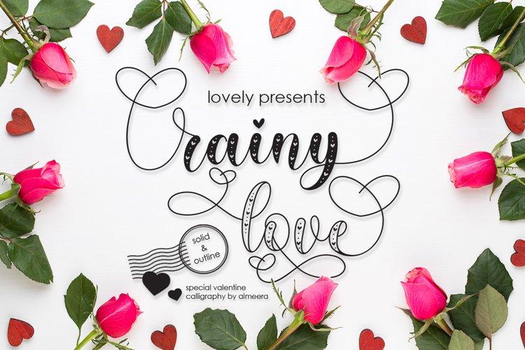Rainy Love   Lovely Calligraphy example image 1