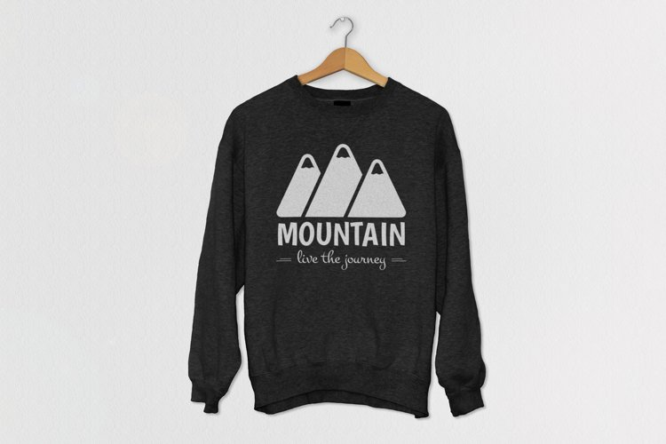 Mountain Logo Template example 3