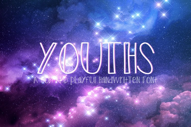 Youths - A Fun and Playful Handwritten Font